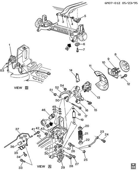 1996 Cadillac Rear Suspension Diagram cadillac hub rear wheel hub rr whl incls stud