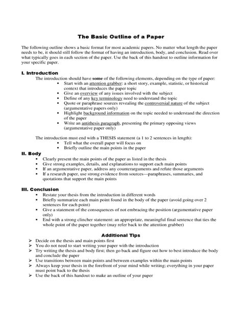Position papers are published in academia, in politics, in law and other domains. Position paper sample outline. Four Steps to Writing a ...