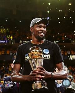 Golden State Warriors 2017 NBA Champions Kevin Durant MVP ...