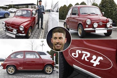 sergio ramos car collection