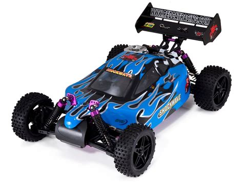 Nitro Rc Car Remote Control Buggy Gas Powered Engine Kids