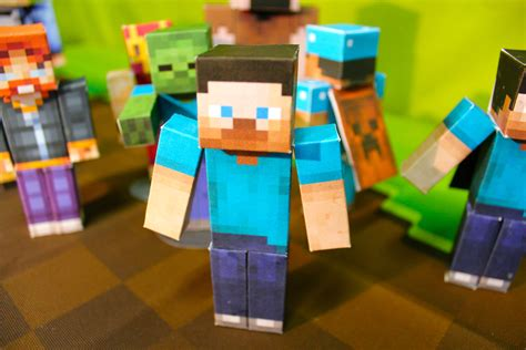 Minecraft Papercraft Studio Now Available For Ios! News