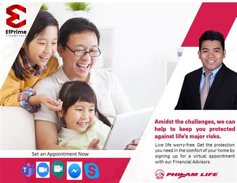Flexible in terms of payments of premium. Philam Life Insurance | EfPrime Financials : August 2020