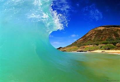 Hawaii Beach Wave Maui Travel Surf Makena