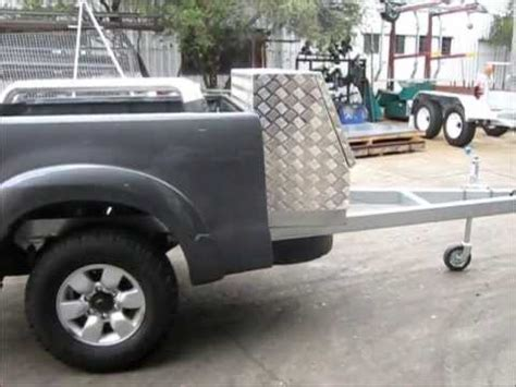 Hilux Tub Trailer by Belco Tub Chassis