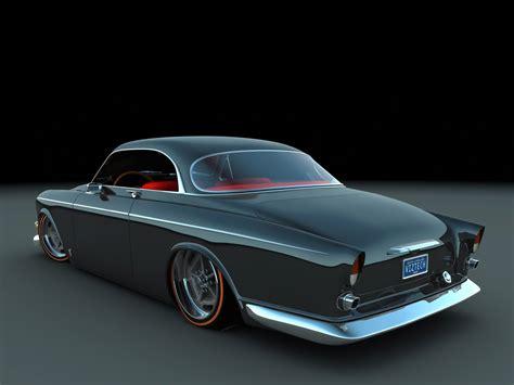 1966 Volvo Amazon Custom Coupe by Bo Zolland - Rear Angle ...