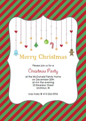 printable christmas invitations christmas party flyer templates printable search results