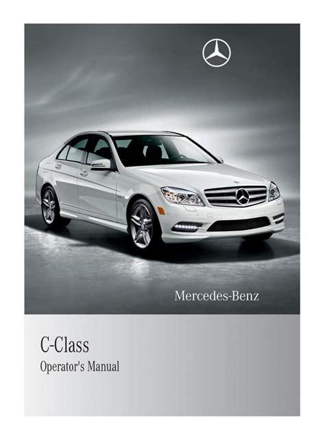 auto repair manual online 2005 mercedes benz c mercedes benz c class w204 owners manual page 1 pdf