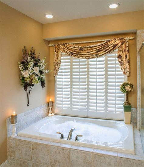curtain ideas for bathrooms curtain ideas bathroom window curtains with attached valance