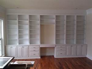Handmade built in home office by a k custom interiors for Office built in