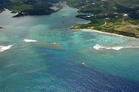 salt river bay inlet  st croix  virgin islands
