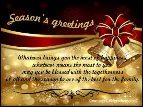 seasons greetings messages 365greetings