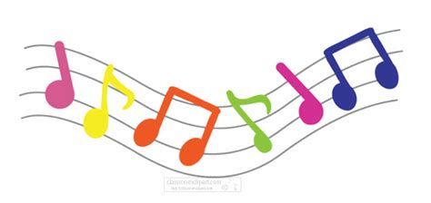 music clipart animated pencil and in color music clipart
