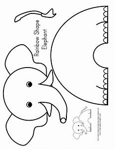 E is for elephant preschool elephants pinterest for Elephant template for preschool