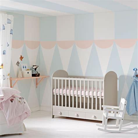 chambre bébé couleur peinture chambre fille bleu