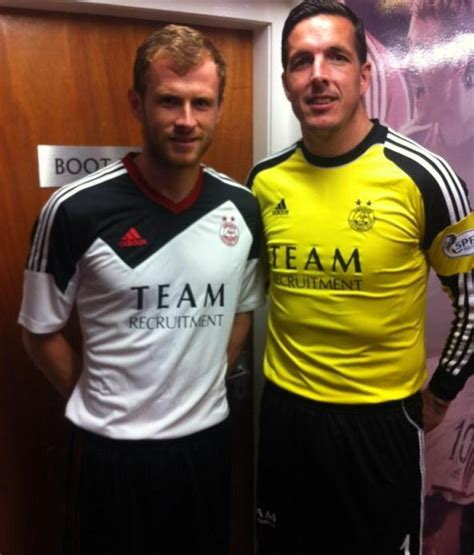 New Aberdeen Away Strip 2013/14- Adidas Aberdeen Away Top ...