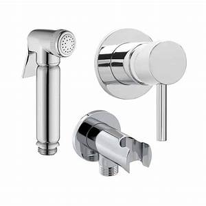 Bidet Shattaf Douche With Concealed Handle
