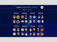 Champions League 20182019 Así queda la Fase de Grupos