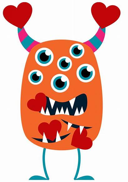 Valentine Clipart Clip Monster Valentines Library Cliparts
