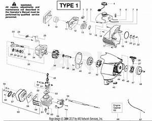 Poulan Pp446et Pole Pruner Type 1  446et
