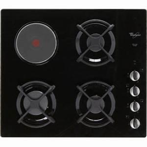 Plaque De Cuisson Gaz Et électrique : plaque de cuisson mixte l 39 achat malin boulanger ~ Dailycaller-alerts.com Idées de Décoration