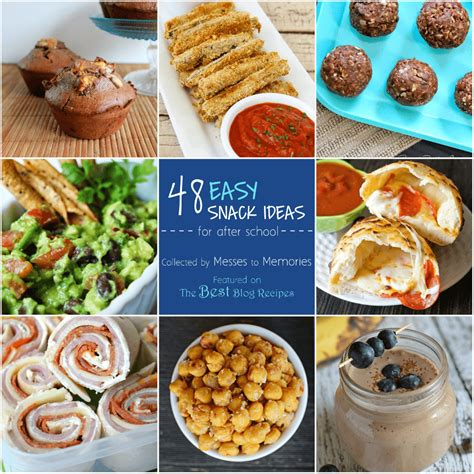 48 easy snack ideas the best blog recipes