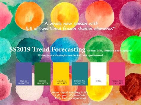 Spring Summer 2019 Trend Forecasting Is A Trendcolor