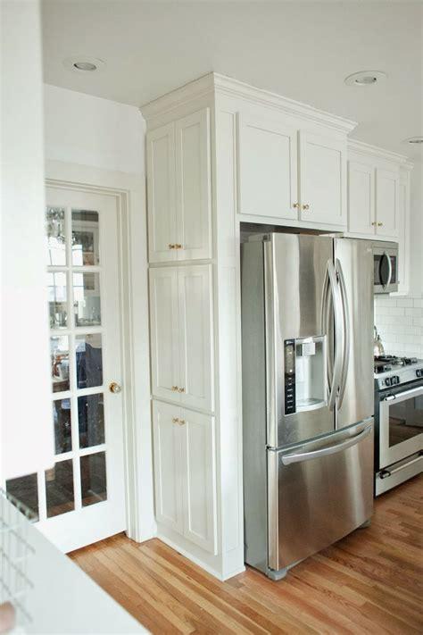 fridge side cabinet kitchen remodel small kitchen