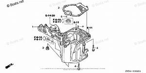 Honda Outboard Parts By Year 2005 Oem Parts Diagram For Oil Case   Oil Pan Gasket
