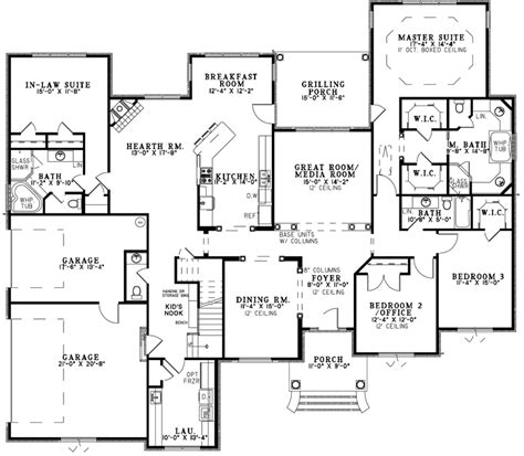 house plans and more leighton manor ranch home plan 055s 0124 house plans and more