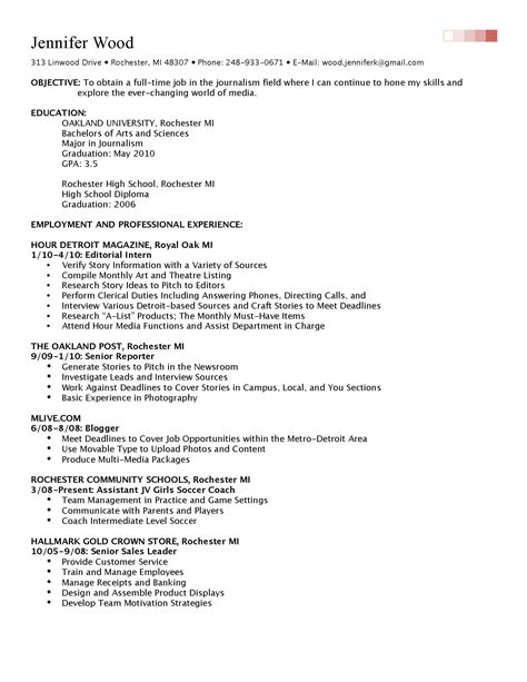 Completing A Resume by Resume K S Portfolio