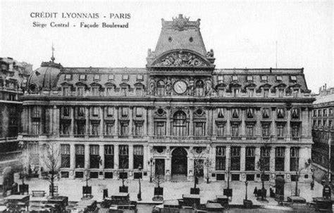 siege credit lyonnais le siège du crédit lyonnais en 1900