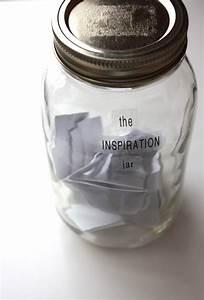 Capture, Inspiration, Jar