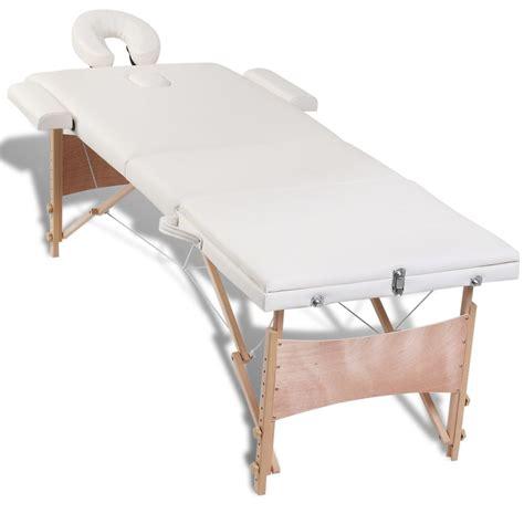 acheter table de pliante 3 zones cr 232 me bois set d accessoires pas cher vidaxl fr