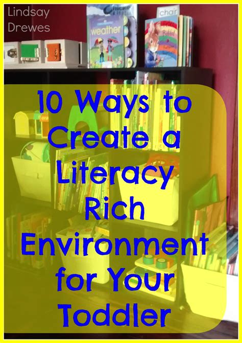Two Color Living Room by The Activity Mom Create A Literacy Rich Environment At Home