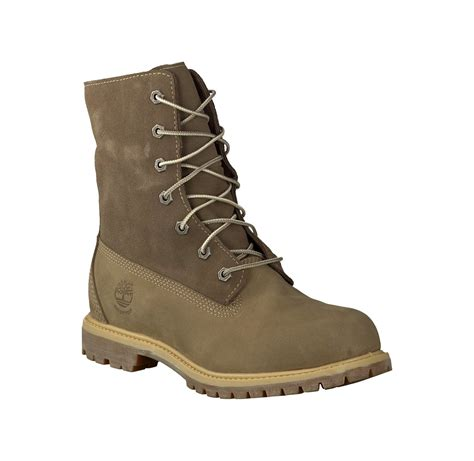 timberland schnürboots damen timberland schn 252 r boots f 252 r damen in hellbraun winter stiefel 256644 braun leder damenschuhe