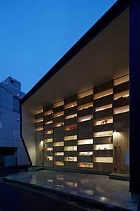 Japan, U0026, 39, S, Checkered, House, Facade, Doubles, As, Interior, Shelves