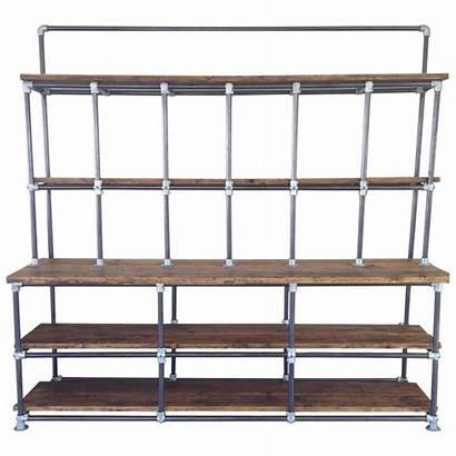 Industrial Shelving Shelves Pipe Chic Shabby Plank