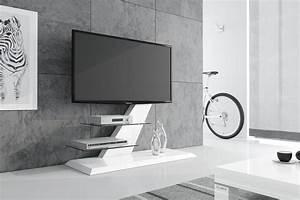 Tv Möbel Weiß : design fernsehtisch hz 111 wei hochglanz tv m bel tv rack lcd inkl tv halterung hochglanz tv m bel ~ Buech-reservation.com Haus und Dekorationen