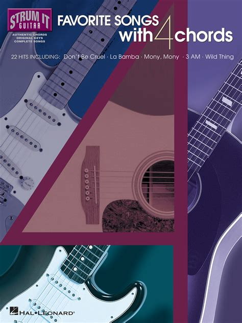 All the songs are in 4/4. Favorite Songs with 4 Chords - Sheet Music - Read Online