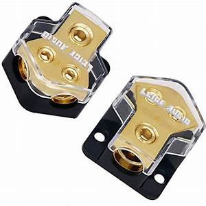 Installgear 1ft Shielded 1 Female To 2 Male Rca Y Adapter