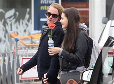 Hand in Hand from Macaulay Culkin and His New Girlfriend