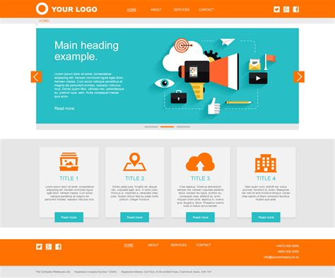 perfect website layout   website designing web