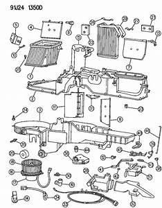 1995 Jeep Actuator  Heater  Heatdefrost  Defrost