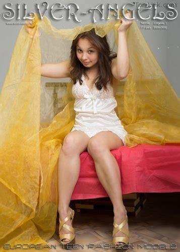 Silver Angels Nicole Lingerie 1 X Teenmodels