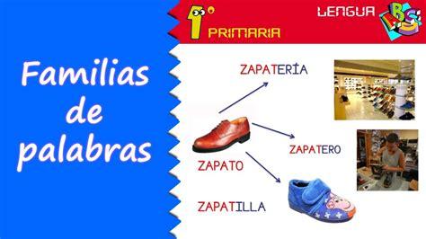 Lengua Castellana 1º Primaria Tema 12 Familia De
