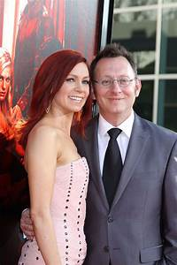 Carrie Preston and Michael Emerson at the Los Angeles ...