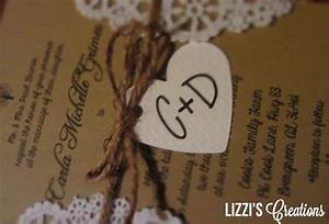 lizzi39s creations project wedding invitations and programs With wedding invitations for less than 50 cents