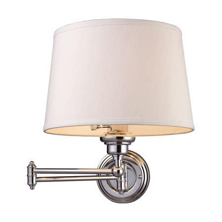 elk lighting 11210 1 westbrook swing arm wall l