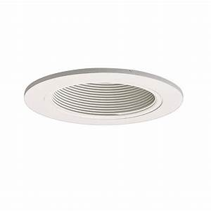 Halo series in white recessed ceiling light trim
